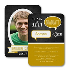 Talking Graduation Announcement